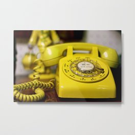 Here's  my number, call me Baby ! Metal Print