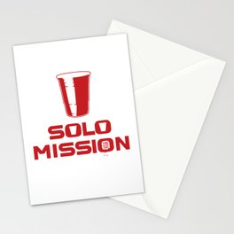 solo mission Stationery Cards
