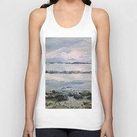 maine Tank Tops featuring Maine by Samantha Crepeau