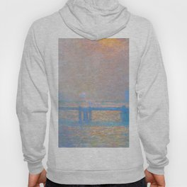 "Claude Monet ""Charing Cross Bridge, The Thames"" (1903) Hoody"