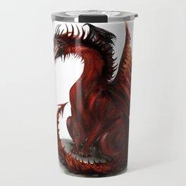 Challenger Lone Dragon Abstract Travel Mug