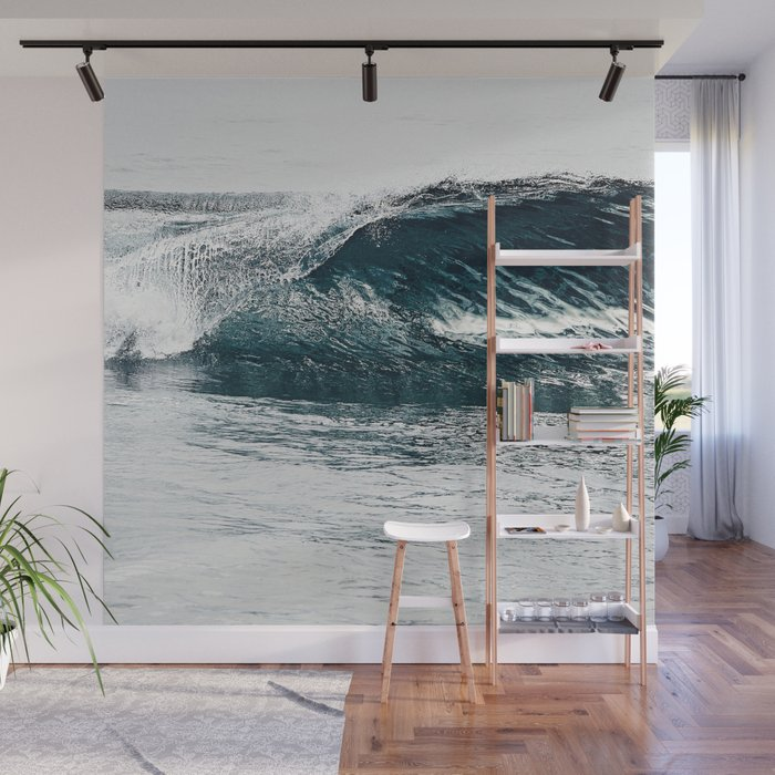 Liquid glass Wall Mural by lbtoma Society6