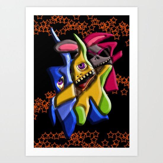 Ragdolls Art Print