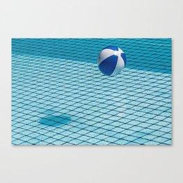 Ball & Pool Canvas Print