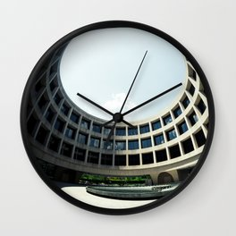 Through the Roof Wall Clock