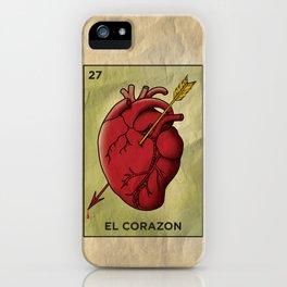 El Corazon iPhone Case