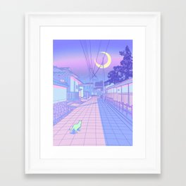 Kyoto Nights Framed Art Print