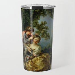 "François Boucher ""The Four Seasons, Spring"" Travel Mug"