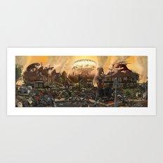 Apocalypse Ilkley Art Print