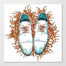 Shoes the last version  Canvas Print