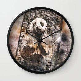 Corporate Panda Wall Clock