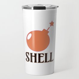 Bombshell #society6 #buyart Travel Mug