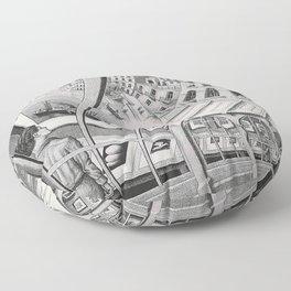 Escher - Print Gallery Floor Pillow