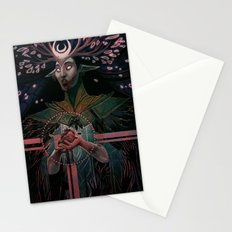 The High Priestess tarot Stationery Cards