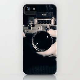 Tell me a secret... iPhone Case