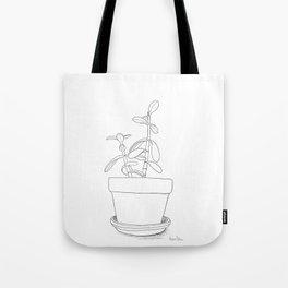 Potted Jade Tote Bag