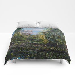 Monet's Garden Comforters