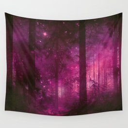 Into The Purpur Light Wall Tapestry