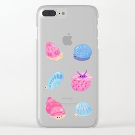 sea shell Clear iPhone Case
