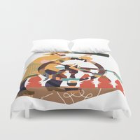 captain silva Duvet Covers featuring Captain by Design4u Studio