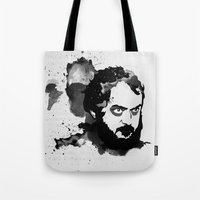 kubrick Tote Bags featuring Stanley Kubrick by Kongoriver