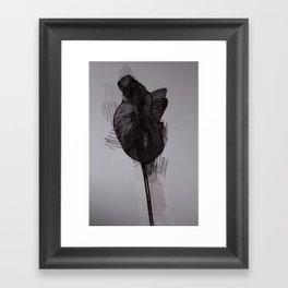 leaf seven Framed Art Print