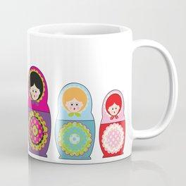 Kawaii Russian dolls Coffee Mug
