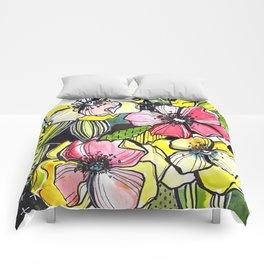 55/365 Floral Comforters