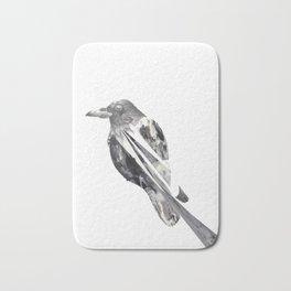 untitled crow Bath Mat