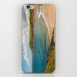 Wales - Manorbier Beach iPhone Skin