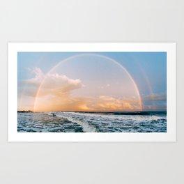 Folly Beach I Art Print