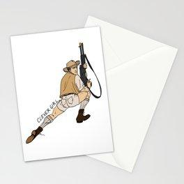 Jurassic Park Pin-Ups ~ Robert Muldoon Stationery Cards