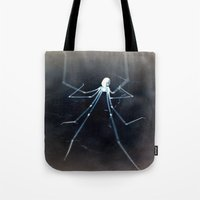 alien Tote Bags featuring ALIEN by  Agostino Lo Coco