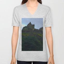Edinburgh Castle, Scotland, photo 1  Unisex V-Neck