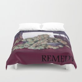 Nature's Remedy Duvet Cover