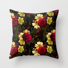 Vintage & Shabby Chic - Night Affaire III Throw Pillow