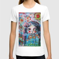 hippie T-shirts featuring Hippie Circus by Dulcamara