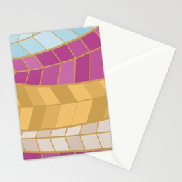GOLDMOSAIC2 Stationery Cards