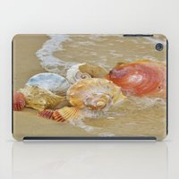 shells iPad Cases featuring Shells by Beach Bum Pics