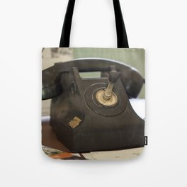 The Old Telephone Tote Bag