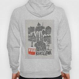 Barcelona Cityscape Hoody
