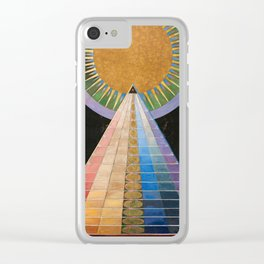 Hilma af Klint, Altarpiece Clear iPhone Case