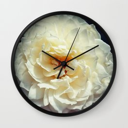 """""""Rose - Print3"""" photography by hope Wall Clock"""