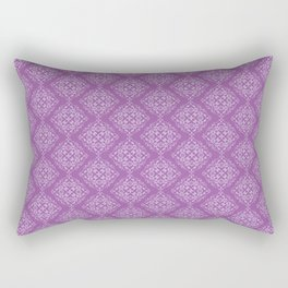 Damask Pattern IX Rectangular Pillow