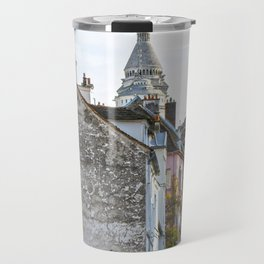 French street in Montmartre, Paris Travel Mug