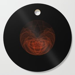 Orange Orb Cutting Board