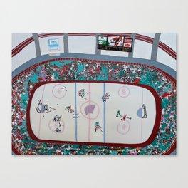 Empty Netter Canvas Print