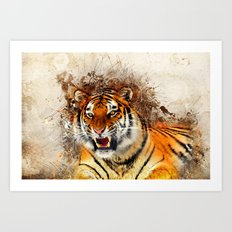 Fierce Art Print