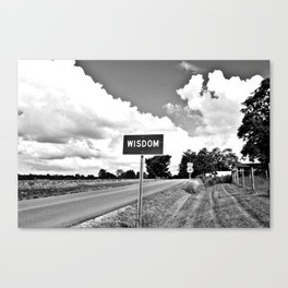 The Road to Wisdom Canvas Print