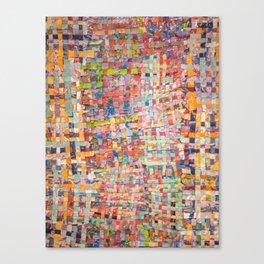 Paint Quilt Canvas Print